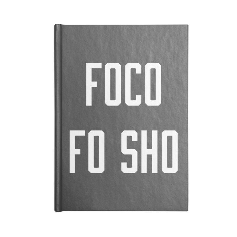 FOCO FO SHO Accessories Blank Journal Notebook by Steger