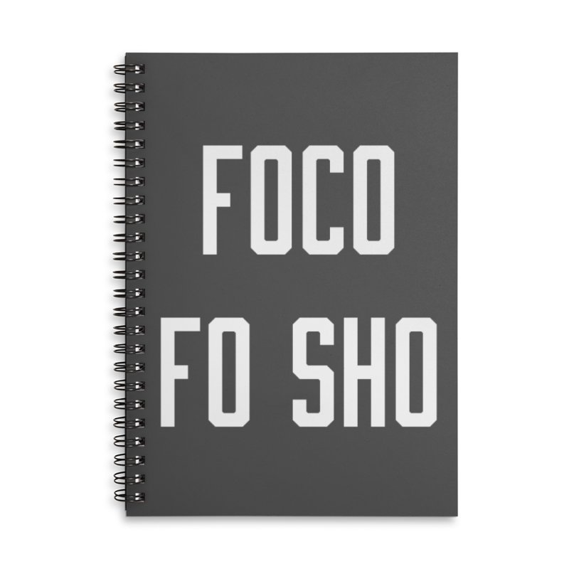 FOCO FO SHO Accessories Lined Spiral Notebook by Steger