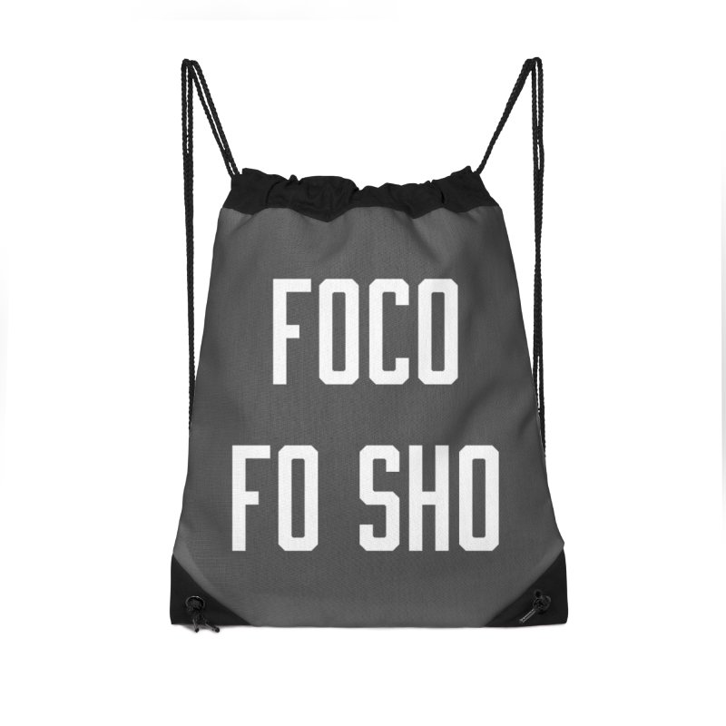FOCO FO SHO Accessories Drawstring Bag Bag by Steger