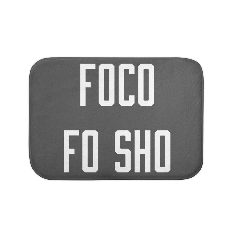 FOCO FO SHO Home Bath Mat by Steger