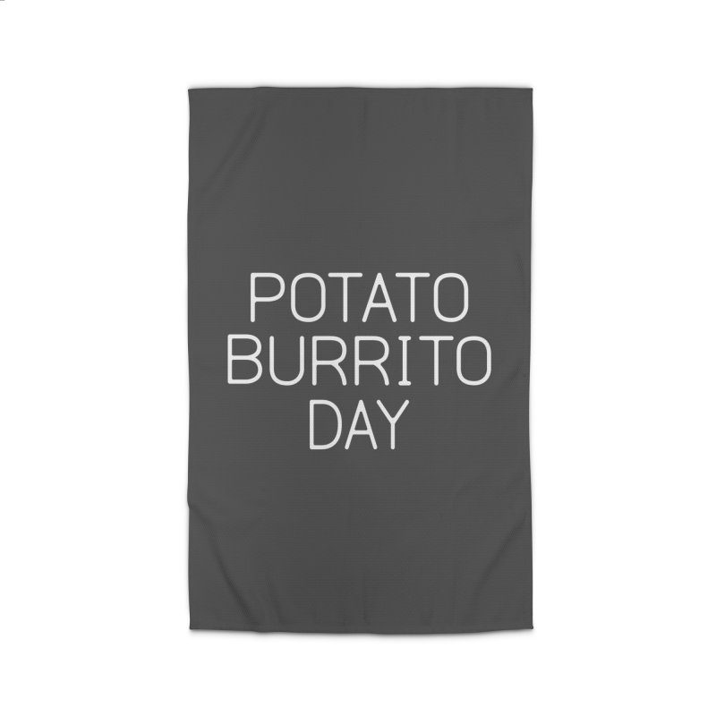 Potato Burrito Day Home Rug by Steger