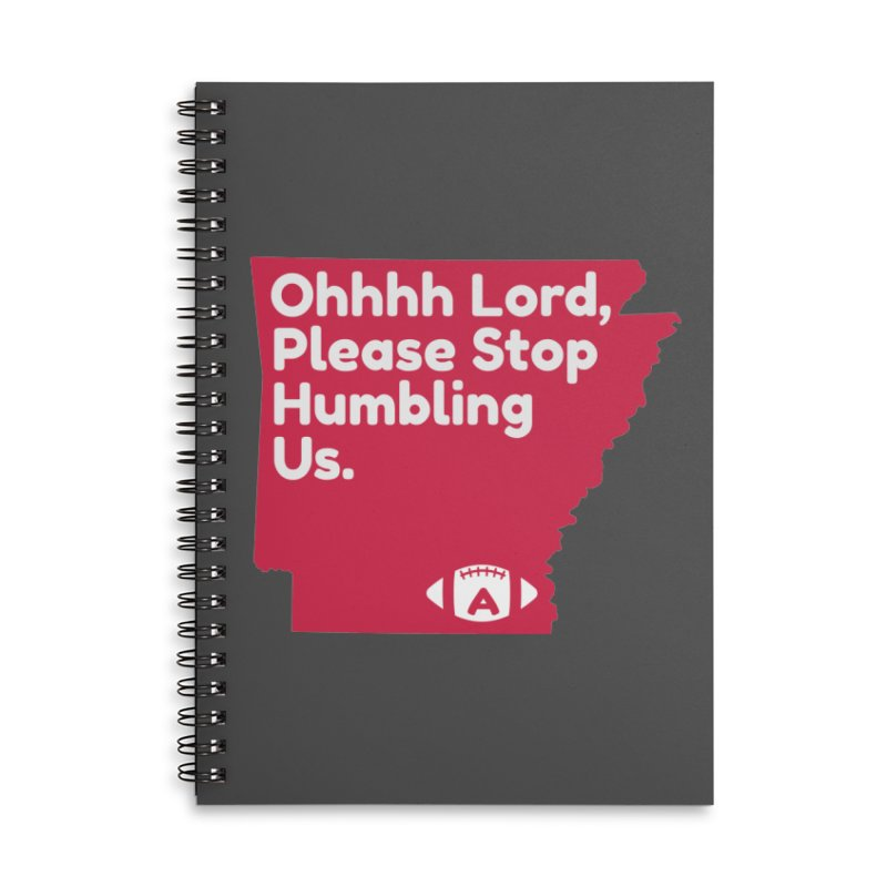 Humbled Accessories Lined Spiral Notebook by Steger
