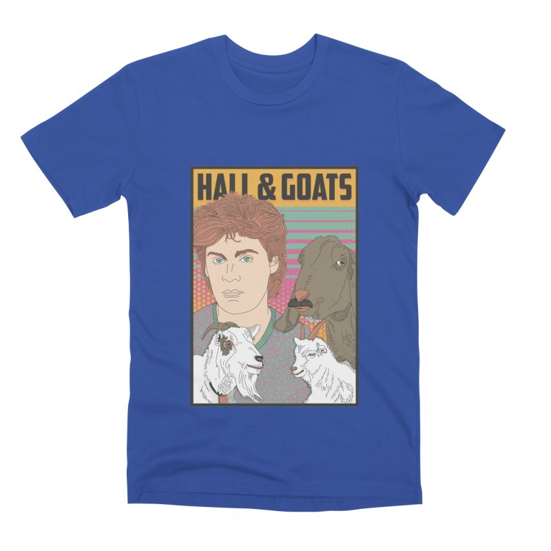 and Goats Men's Premium T-Shirt by Steger