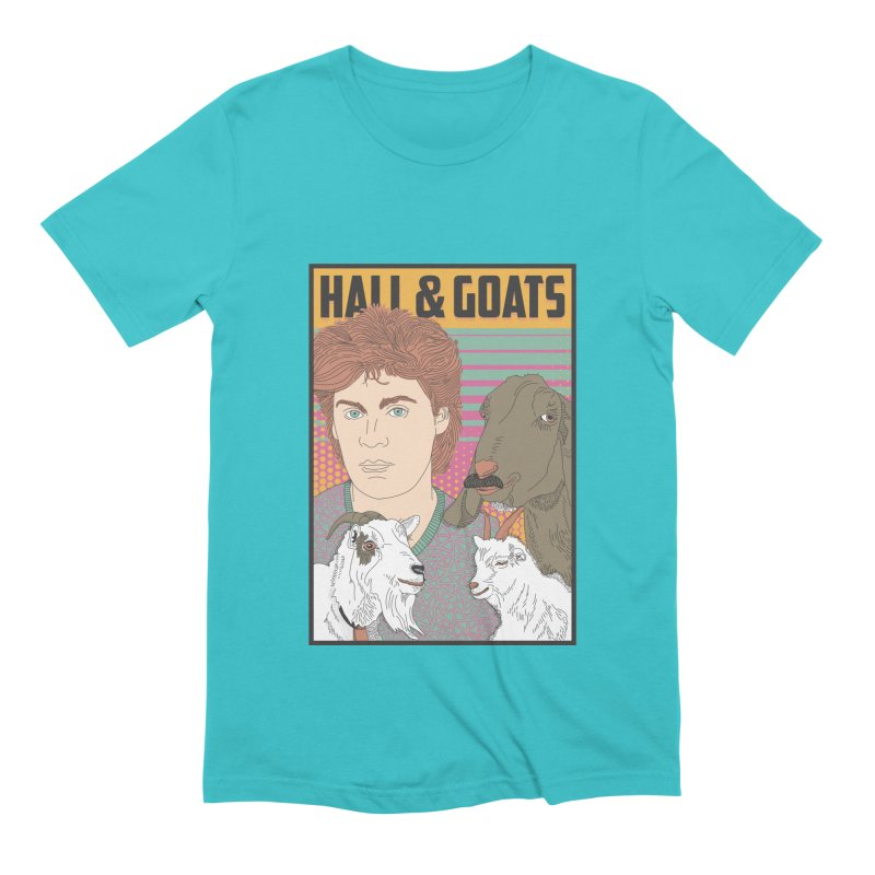 and Goats Men's Extra Soft T-Shirt by Steger