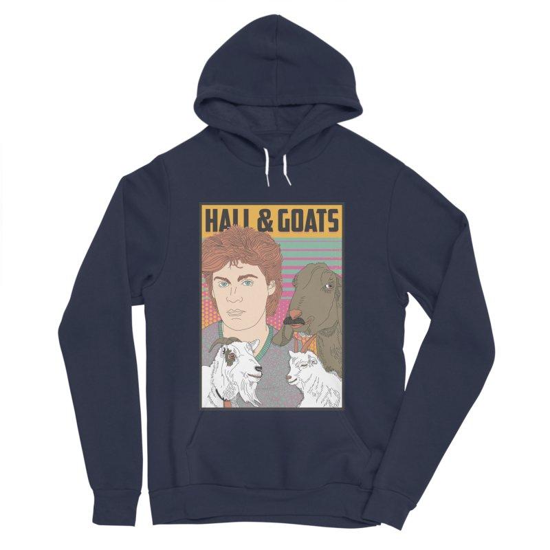 and Goats Men's Sponge Fleece Pullover Hoody by Steger
