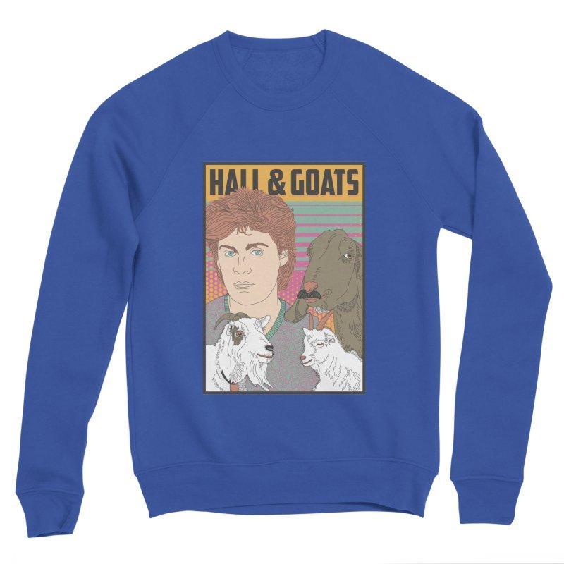 and Goats Women's Sponge Fleece Sweatshirt by Steger