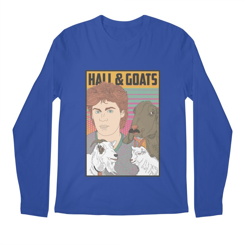 and Goats Men's Regular Longsleeve T-Shirt by Steger