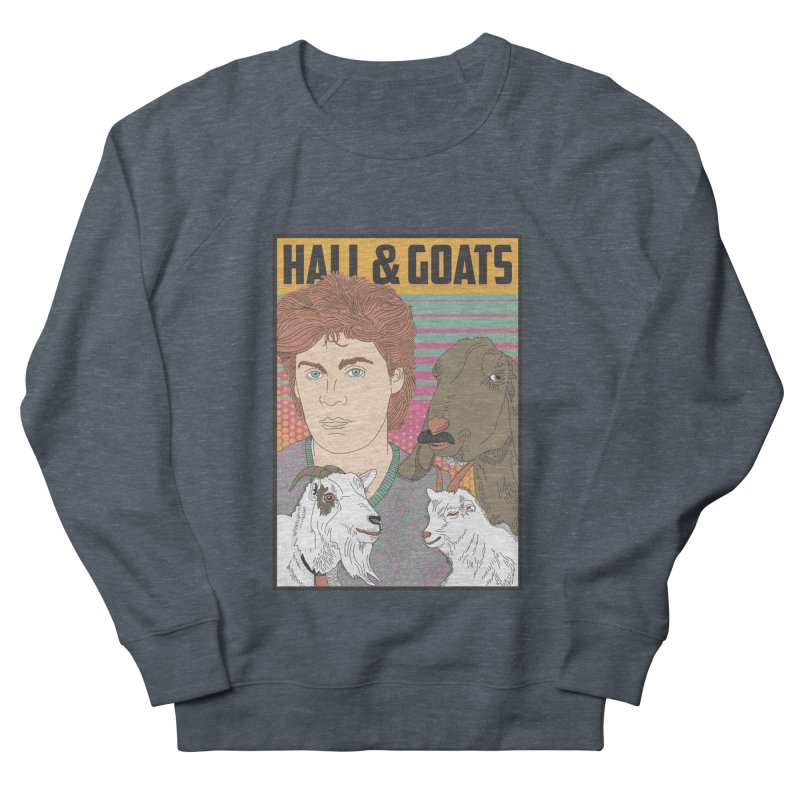 and Goats Men's French Terry Sweatshirt by Steger