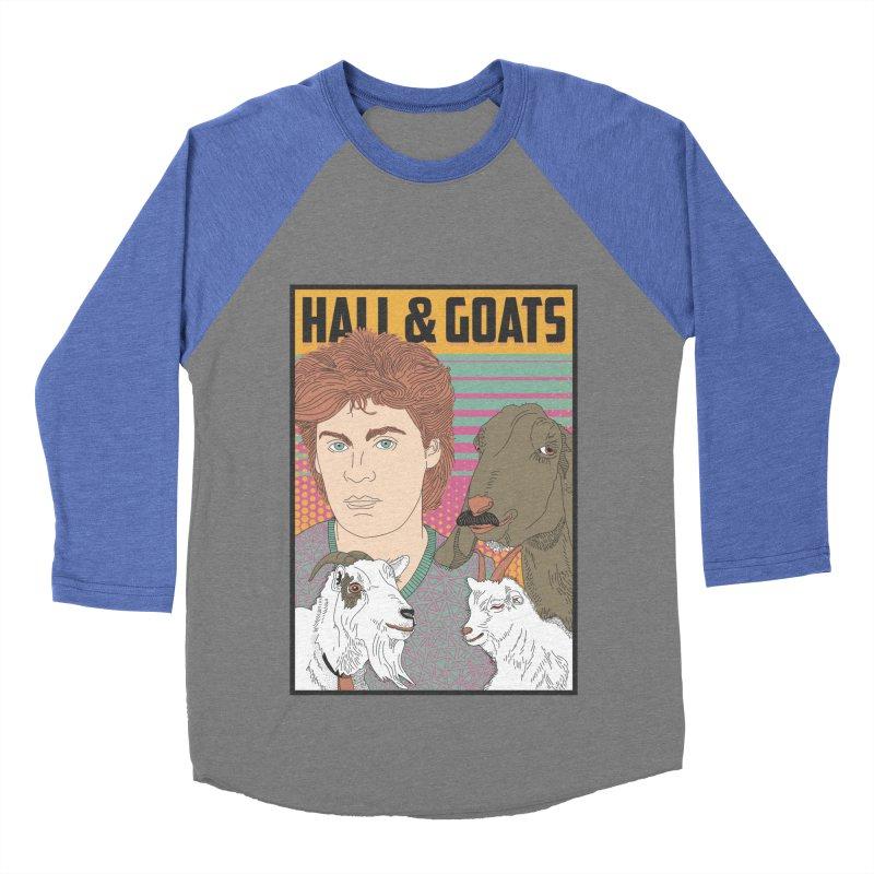 and Goats Women's Baseball Triblend Longsleeve T-Shirt by Steger
