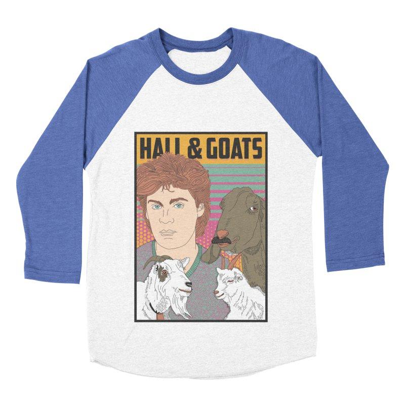 and Goats Men's Baseball Triblend Longsleeve T-Shirt by Steger