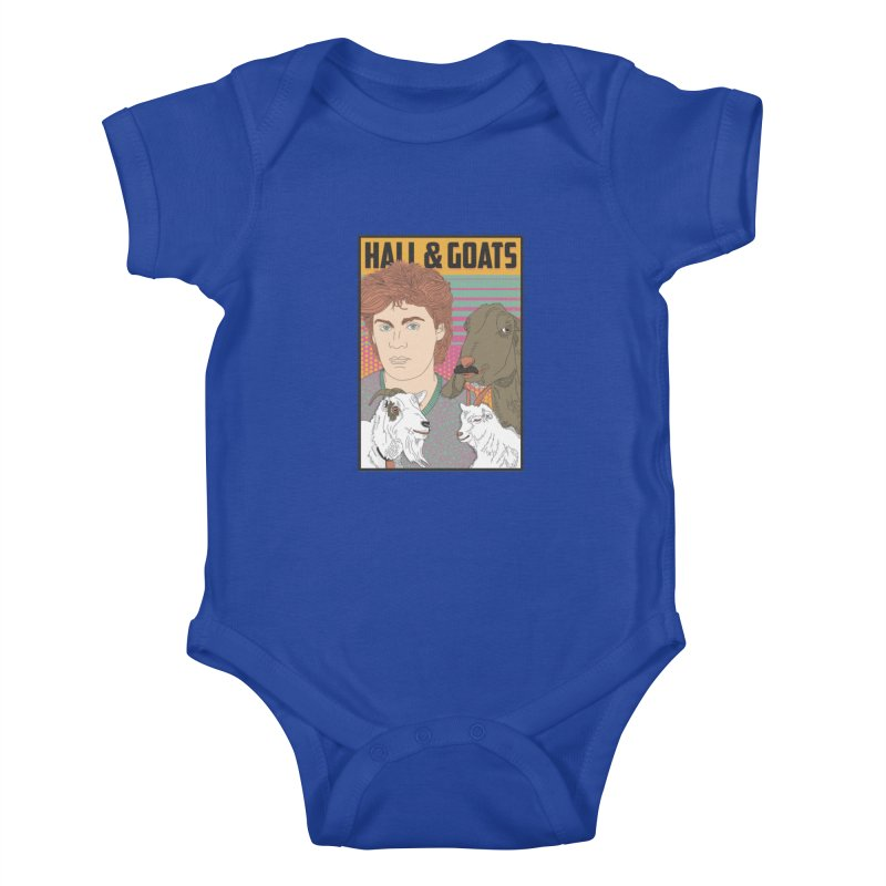 and Goats Kids Baby Bodysuit by Steger