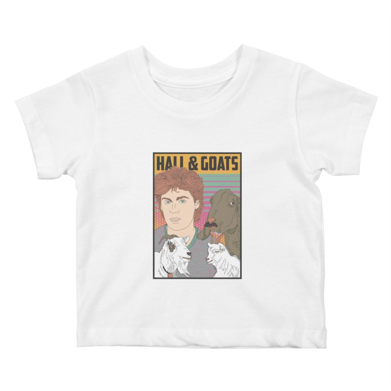 and Goats Kids Baby T-Shirt by Steger