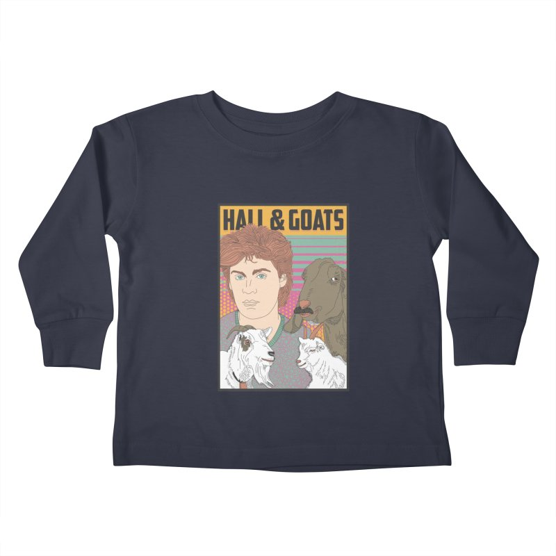 and Goats Kids Toddler Longsleeve T-Shirt by Steger