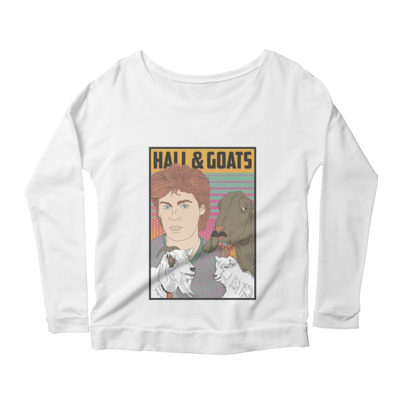 and Goats Women's Scoop Neck Longsleeve T-Shirt by Steger