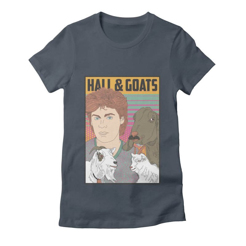 and Goats Women's Fitted T-Shirt by Steger