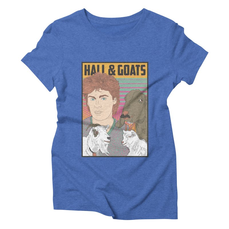 and Goats Women's Triblend T-Shirt by Steger