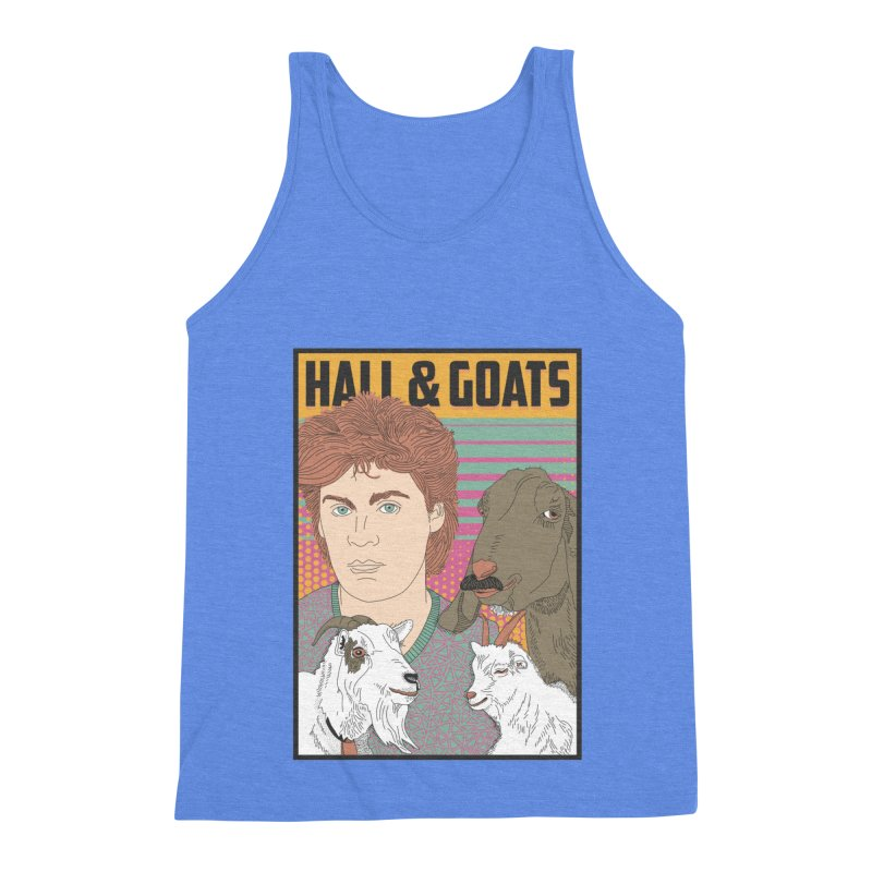 and Goats Men's Triblend Tank by Steger