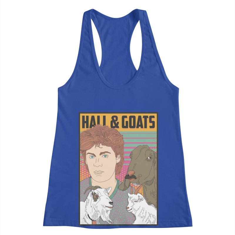and Goats Women's Racerback Tank by Steger