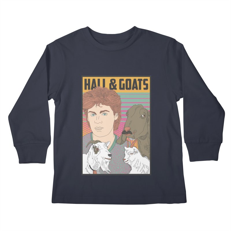 and Goats Kids Longsleeve T-Shirt by Steger