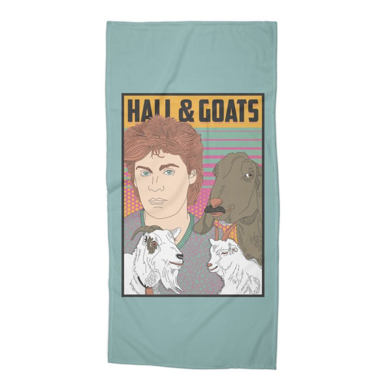 and Goats Accessories Beach Towel by Steger