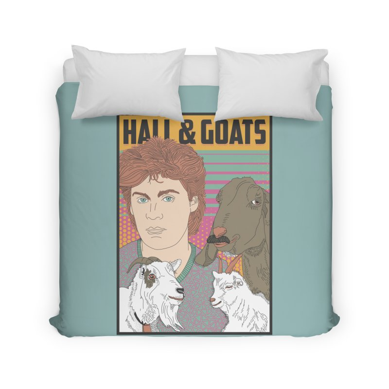 and Goats Home Duvet by Steger