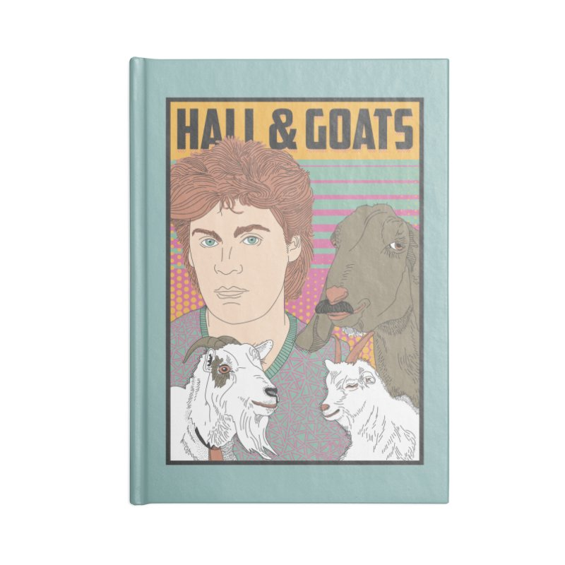 and Goats Accessories Lined Journal Notebook by Steger
