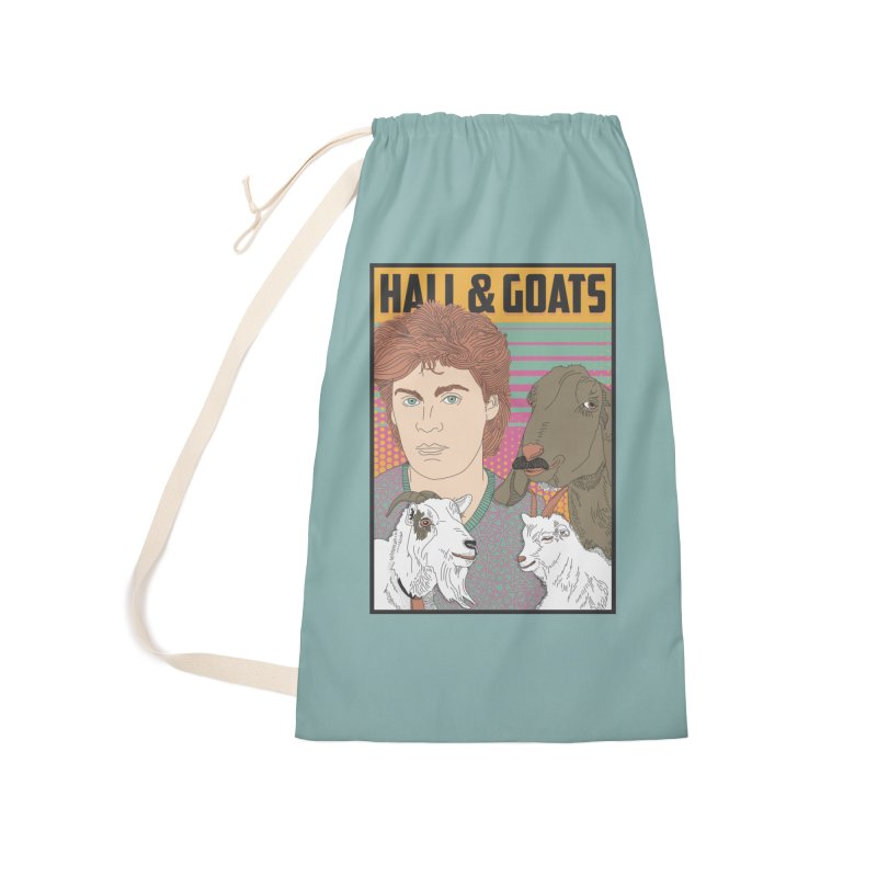 and Goats Accessories Laundry Bag Bag by Steger