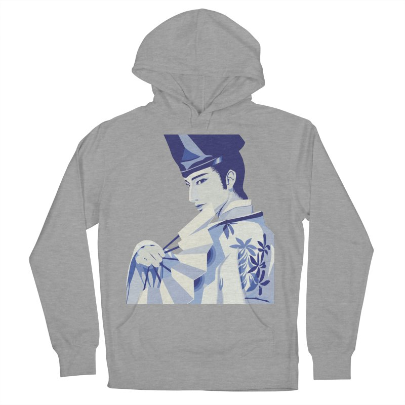 The Tale of Genji Women's French Terry Pullover Hoody by stelart's Artist Shop