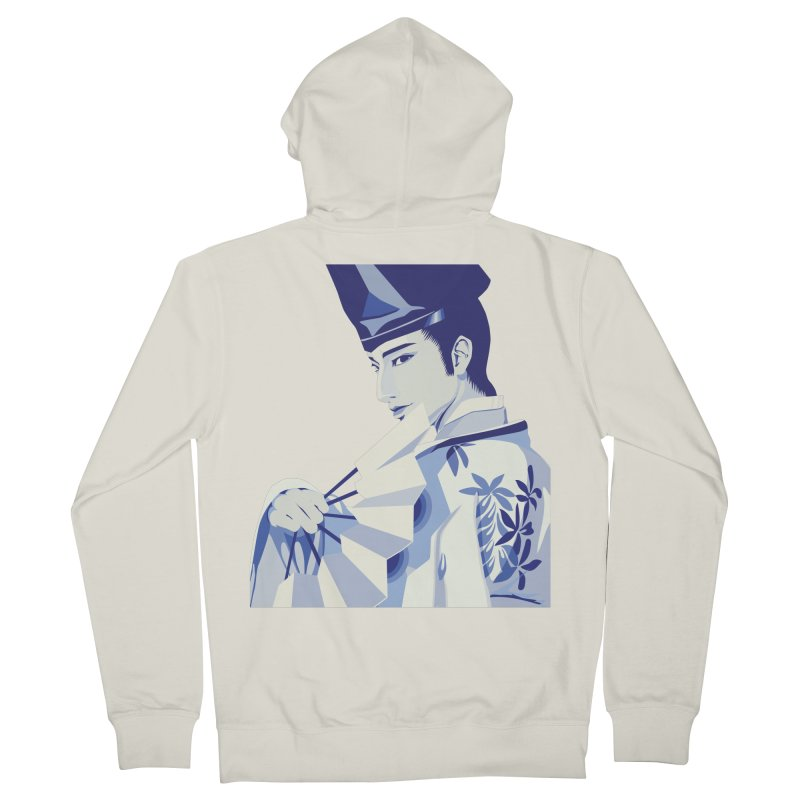 The Tale of Genji Men's Zip-Up Hoody by stelart's Artist Shop