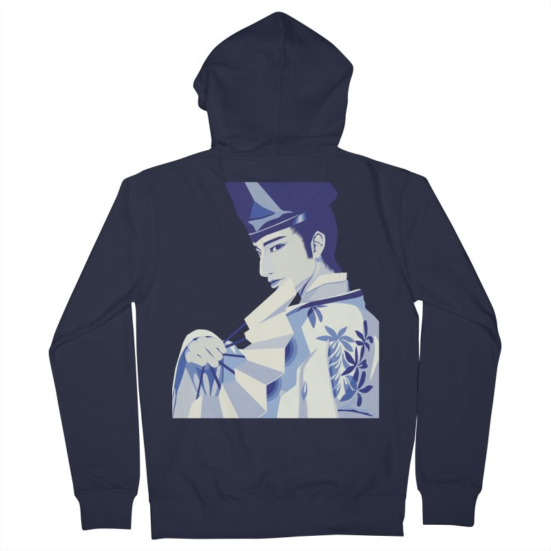 The Tale of Genji Men's French Terry Zip-Up Hoody by stelart's Artist Shop