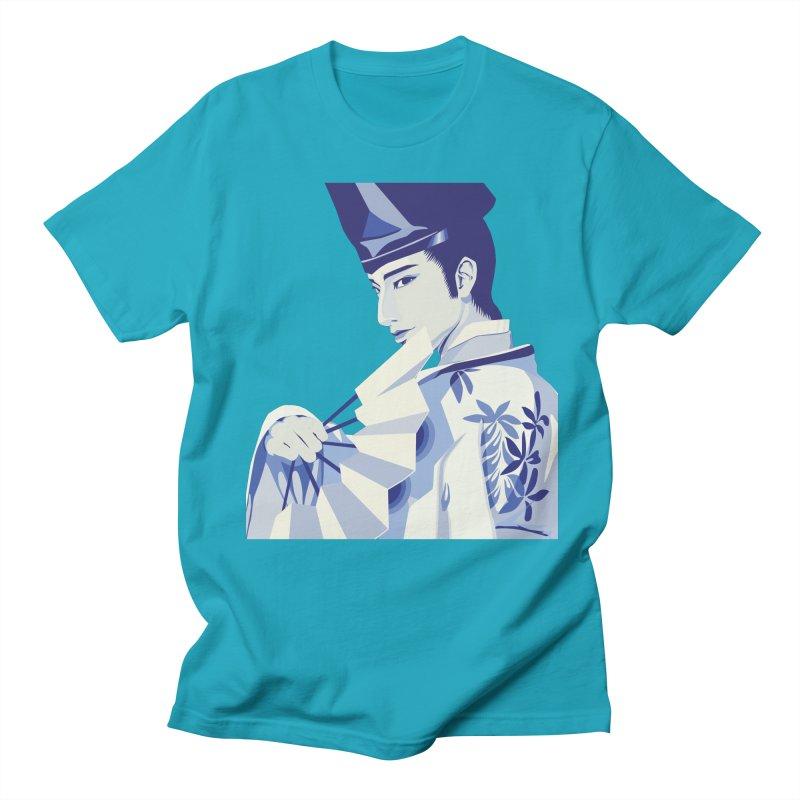 The Tale of Genji Men's Regular T-Shirt by stelart's Artist Shop