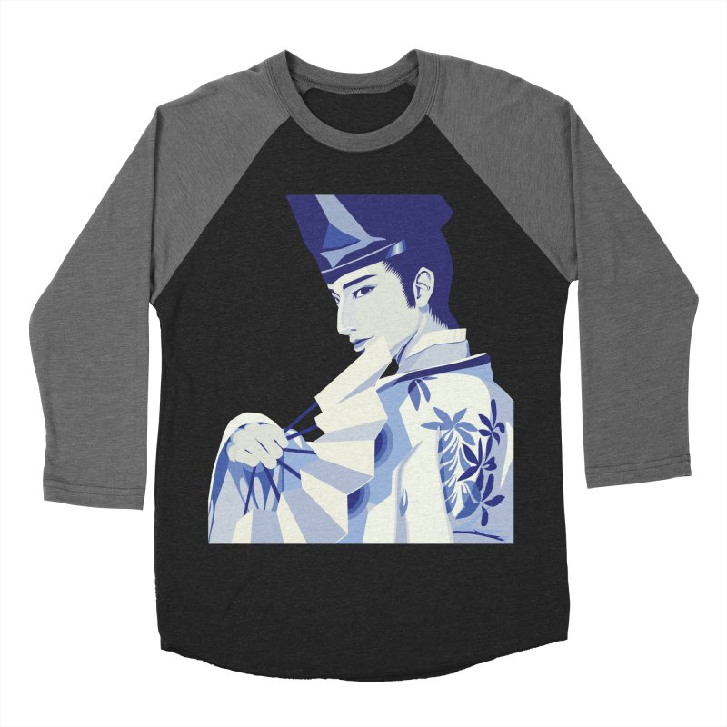 The Tale of Genji Women's Baseball Triblend Longsleeve T-Shirt by stelart's Artist Shop