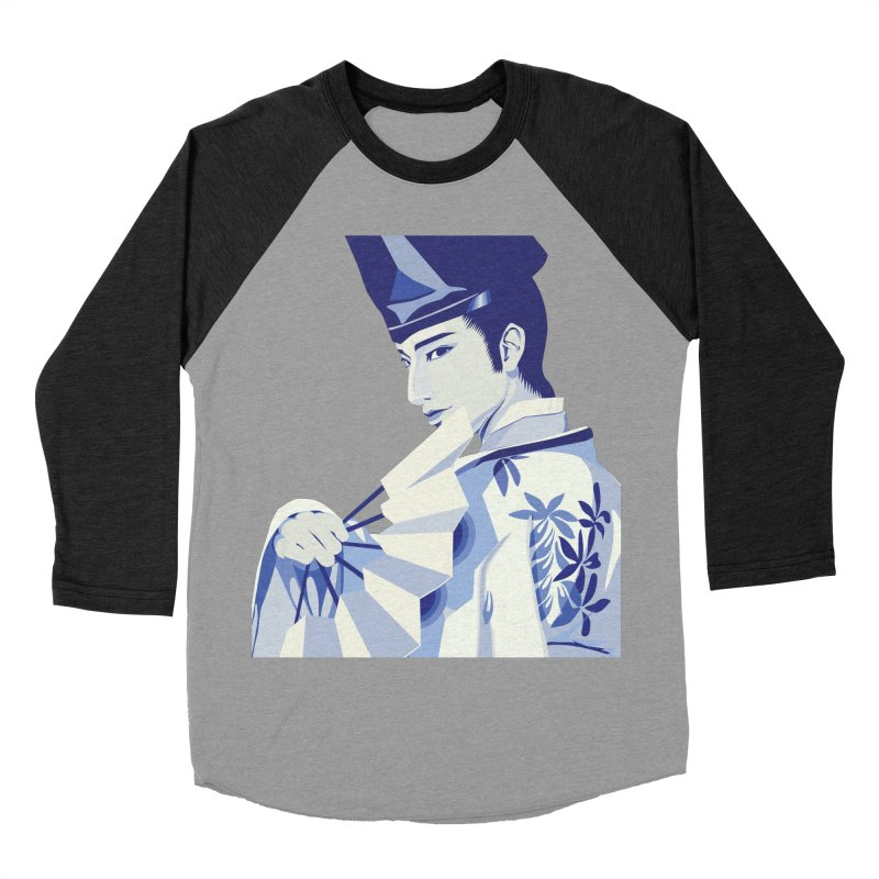 The Tale of Genji Women's Baseball Triblend Longsleeve T-Shirt by stelart's Artist Shop