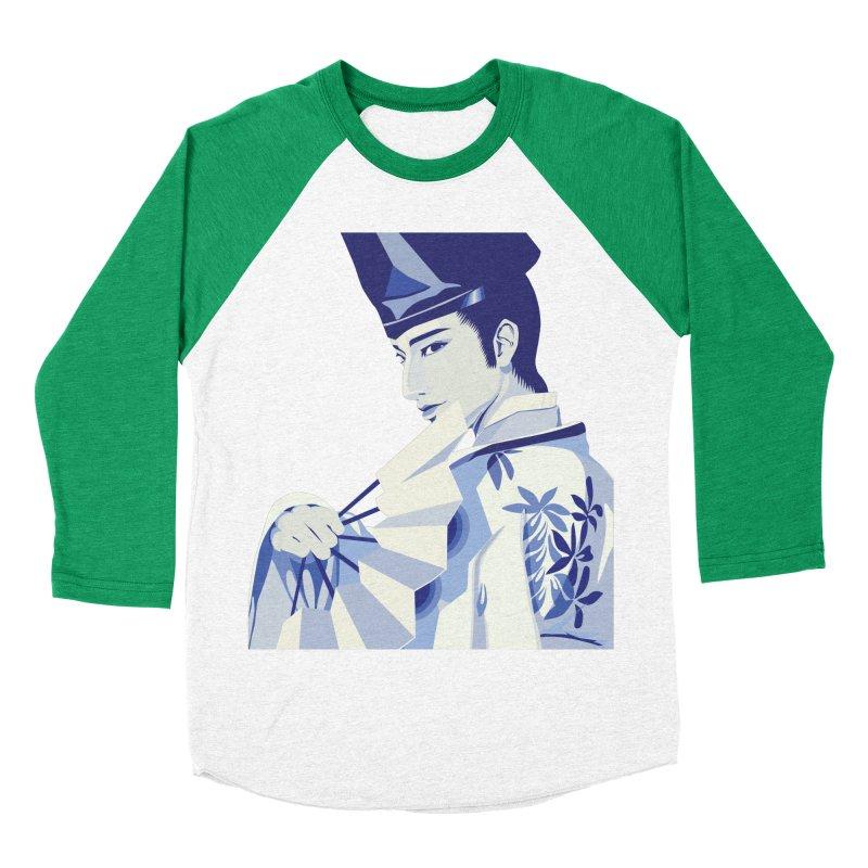 The Tale of Genji Men's Baseball Triblend T-Shirt by stelart's Artist Shop