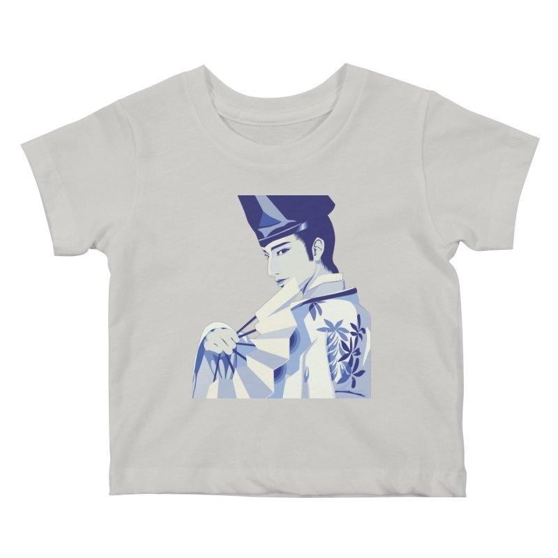 The Tale of Genji Kids Baby T-Shirt by stelart's Artist Shop