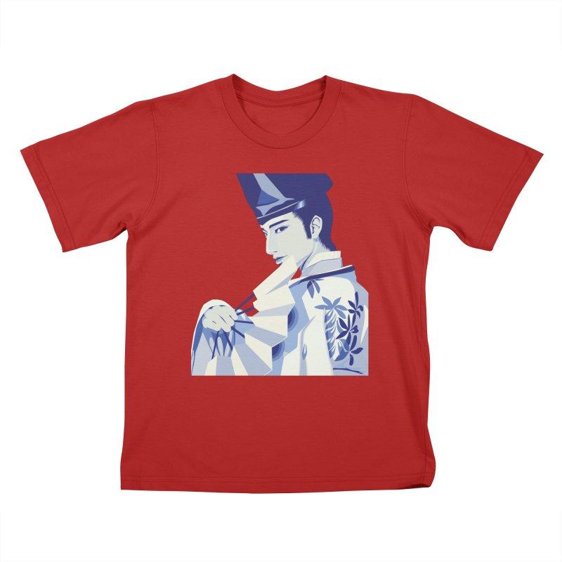 The Tale of Genji Kids T-shirt by stelart's Artist Shop