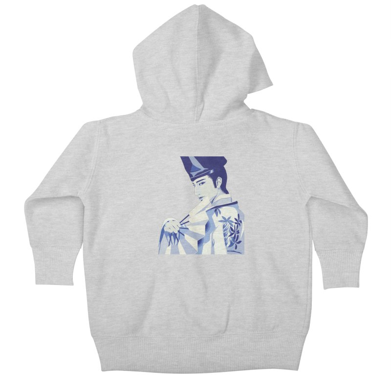 The Tale of Genji Kids Baby Zip-Up Hoody by stelart's Artist Shop