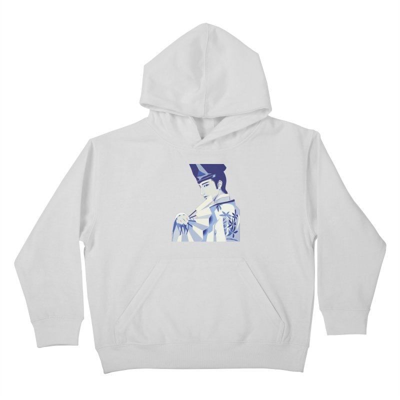 The Tale of Genji Kids Pullover Hoody by stelart's Artist Shop