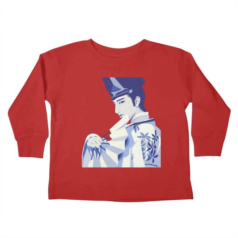 The Tale of Genji Kids Toddler Longsleeve T-Shirt by stelart's Artist Shop