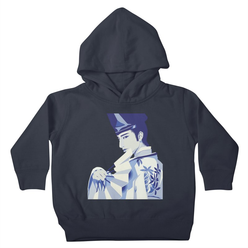 The Tale of Genji Kids Toddler Pullover Hoody by stelart's Artist Shop