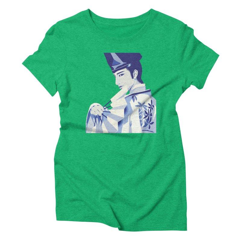 The Tale of Genji Women's Triblend T-Shirt by stelart's Artist Shop