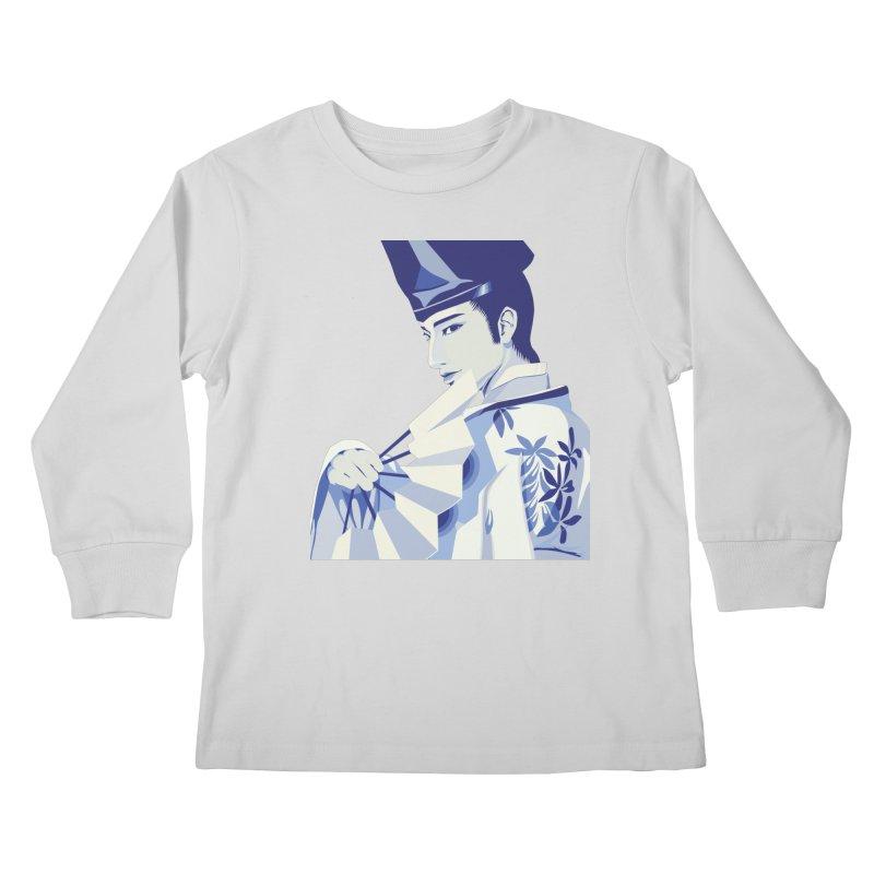 The Tale of Genji Kids Longsleeve T-Shirt by stelart's Artist Shop