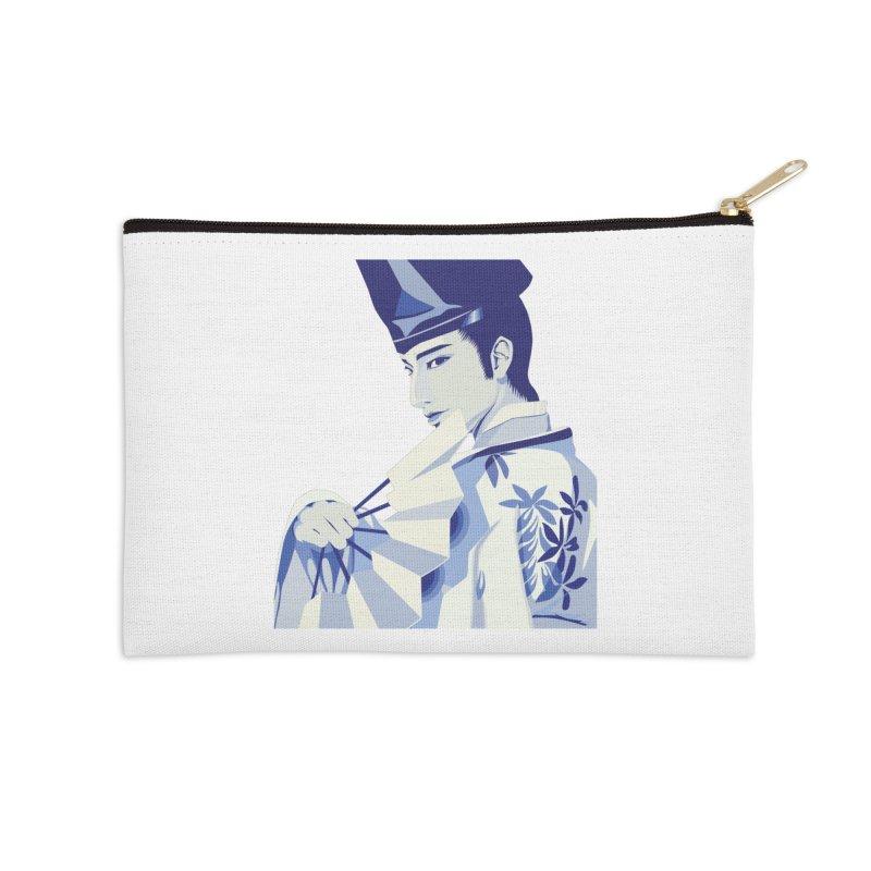 The Tale of Genji Accessories Zip Pouch by stelart's Artist Shop