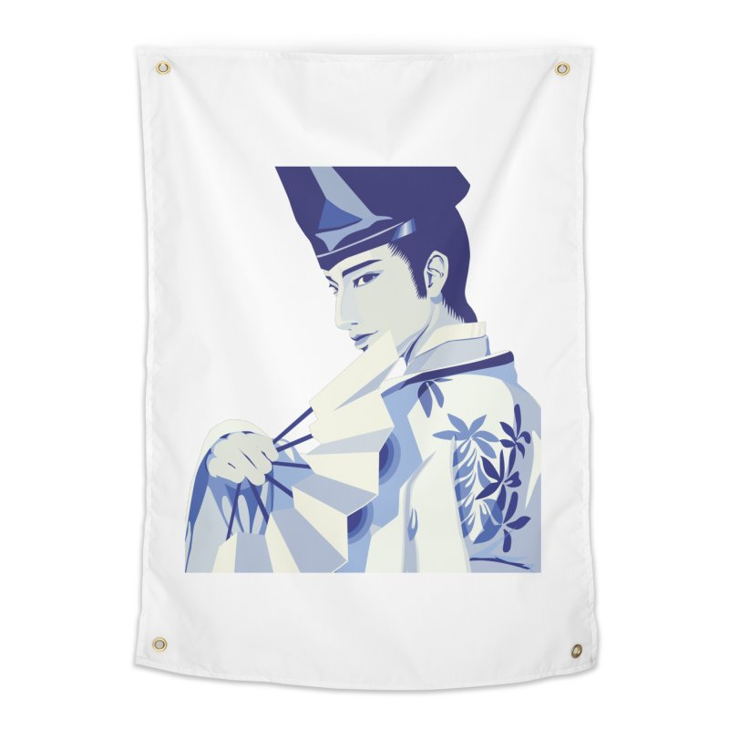 The Tale of Genji Home Tapestry by stelart's Artist Shop