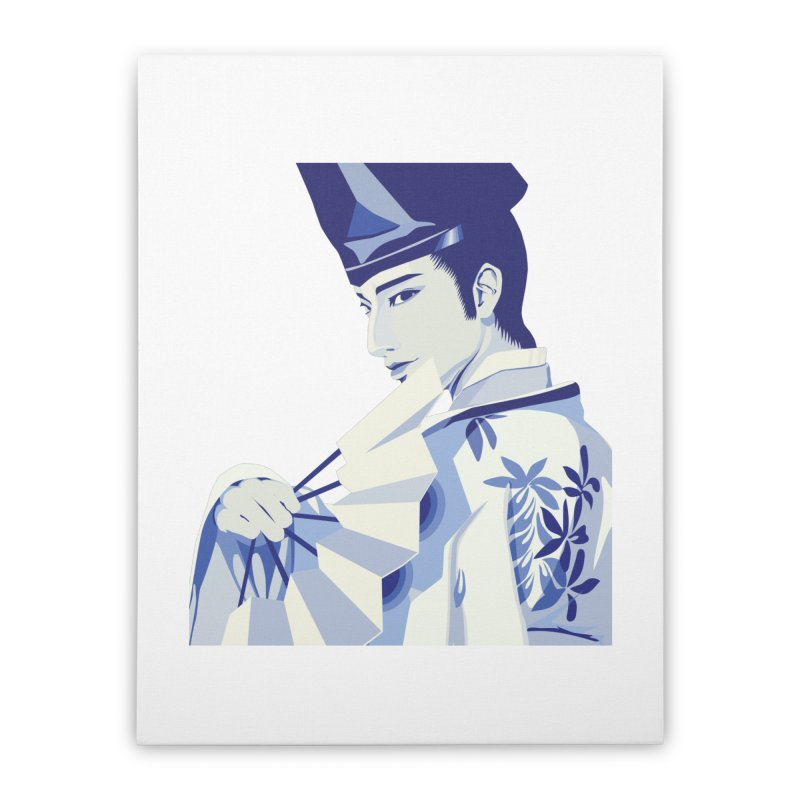 The Tale of Genji Home Stretched Canvas by stelart's Artist Shop