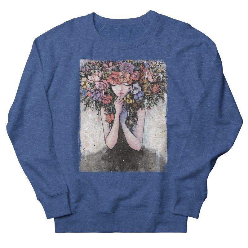 Hiding the Blue Men's Sweatshirt by Stella Im Hultberg