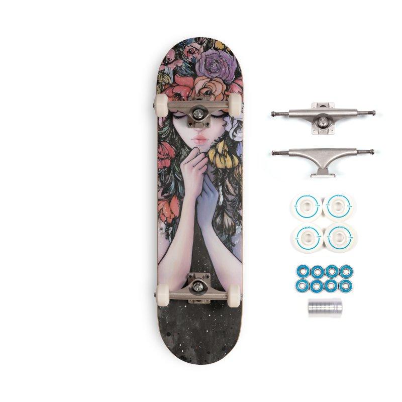 Hiding the Blue Accessories Skateboard by Stella Im Hultberg