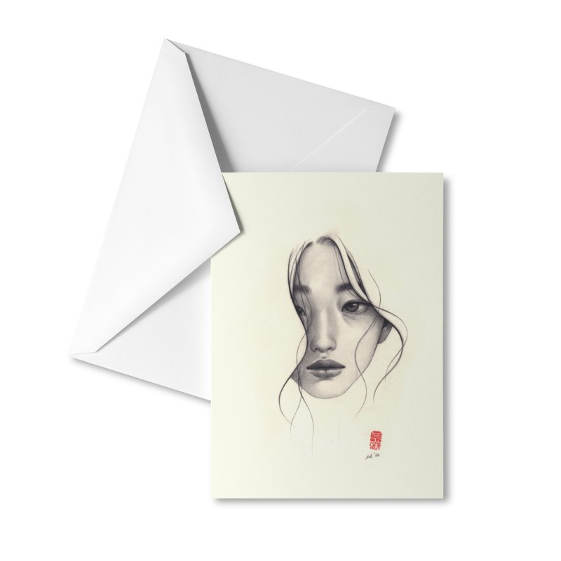 An Ordinary Day Accessories Greeting Card by Stella Im Hultberg