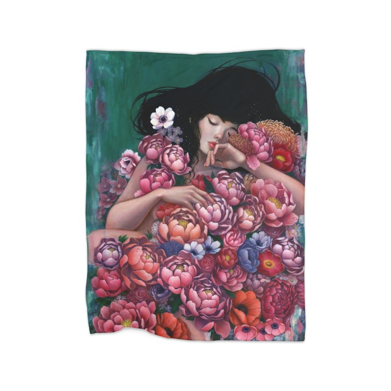 Age of Blossoms Home Blanket by Stella Im Hultberg