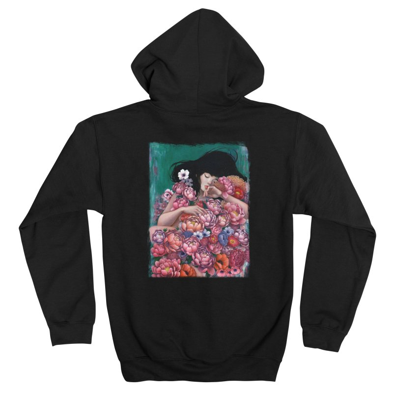 Age of Blossoms Men's Zip-Up Hoody by Stella Im Hultberg